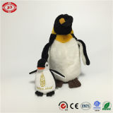 La peluche bourrée classique mignonne d'empereur de pingouin badine le jouet chaud de vente