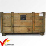 Handmade 나무로 되는 저장 앙티크 재생산 트렁크