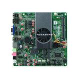AMD E450 Dunne mini-Itx 2 Motherboard van Com Industriële Vertoning VGA/HDMI 1080P