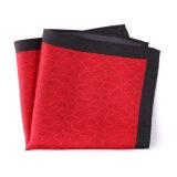 Pañuelo cuadrado Pocket impreso poliester de seda de moda del pañuelo (SH-109A)