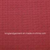 Colore rosso del jacquard del poliestere/del blu marino fuoco inerentemente/tessuto a prova di fuoco ignifugo