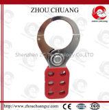 Ökonomische Stahlhasp-Aussperrung mit sechs Löchern für Sicherheits-Vorhängeschloß