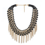 De Halsband van het Kristal van de manier, Geparelde Hete Halsband, verkoopt Juwelen