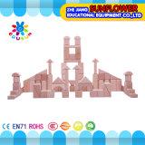 La mesa de madera de los niños juega el rompecabezas de madera de desarrollo de los bloques huecos de los juguetes (XYH-JMM10006)