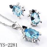 Joyería de plata de la manera de la venta al por mayor 925 (YS-2280, YS-2281, YS-2288, YS-2279, YS-2283, YS-2286)