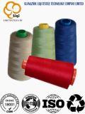 El poliester teñido 100% de los colores rosca 40s/2 para el uso del bordado