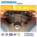 販売のための実用的なボギー式車軸40FTの平面の貨物トレーラー