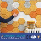 El nuevo panel de pared acústico decorativo material insonoro de las lanas de madera