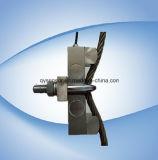 Capteur de pression de piézoélectrique nickelé d'acier allié de la bride de câbles métalliques (1.5t à 10t par corde) 1mv/V/IP64