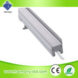 IP65 a prueba de agua de 1200 mm RGB SMD 5050 LED Linear arandela de la pared