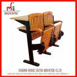 木のトレーニングの机の学校家具学生の椅子