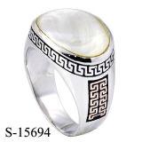 De heet-verkoopt Nieuwe Model Zilveren Goede Kwaliteit van de Ring van Mens 925