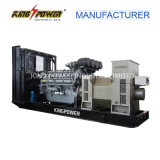 High Voltage Diesel Generator 520kw/650kVA 10.5kvのためのパーキンズEngine