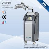 Oxígeno de Oxypdt (ii) con el equipo de la belleza del cuidado de piel de la máscara de PDT