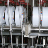 Dispositif de machines de textile pour le filé tourné par faisceau de Spandex
