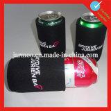 Sostenedor plegable del refrigerador de la botella de cerveza del fútbol del neopreno