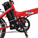يطوي درّاجة كهربائيّة ([لن16ف02])