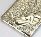 3D Angel Wings Plating Hard Caso para iPhone6