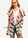 Wolljacke-Strickjacke der Soem Dame-Fashion Hot Sales Long