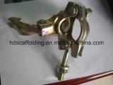 Acoplador giratorio presionado andamio