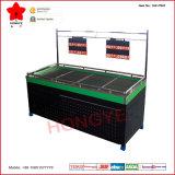 Support végétal de fruit en métal de panneau de grille à une seule couche de PVC (OW-FR07)