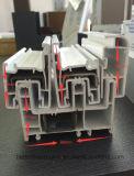 Het Populaire Venster UPVC/PVC van uitstekende kwaliteit met Decoratieve Strook