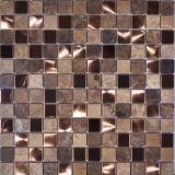 Mosaico caldo del marmo di colore giallo di vendita con l'alta qualità