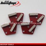 Ботинки заднего конкретного диаманта металла полируя для точильщиков Klindex