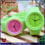 Frauen-Silikon-Gelee-Quarz-Entsprechung des Taktgeber-Yxl-969 Sports Armbanduhr-Dame-beiläufigen Uhr-Großverkauf