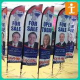 卸し売り安い屋外の習慣PVC旗、旗(TJ-001)を広告するビニール