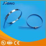 Courroie de bande de serre-câble d'acier inoxydable de l'approvisionnement 304# de constructeur/acier inoxydable