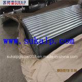 Strato ondulato del tetto dello zinco