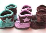 Großhandelsschuhe und Hut-Häkelarbeit-Babyschuhe