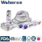 Поднос/контейнер фольги /Aluminium алюминиевой фольги домочадца для упаковки еды