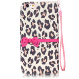 Leer Pu Case Mobile Phone Flip Cover met Stand voor iPhone