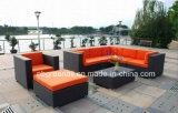 Mobília ao ar livre do pátio europeu moderno do Rattan do hotel (GN-9058-1S)
