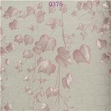 미국 텔레비젼 조정 Stype 아름다운 디자인 분홍색 PVC 벽지