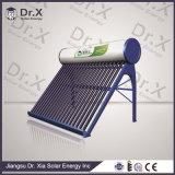calefator de água 250L solar com câmara de ar de vácuo