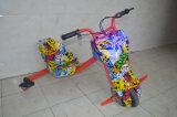 전기 100W 모터를 가진 3 바퀴 미친 편류 Tricar