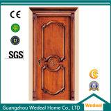 Projeto novo da porta de madeira para o interior com alta qualidade (WDP3014)