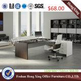 melamina L mesa de $68 1.6m de escritório do gerente da forma (HX-5N022)