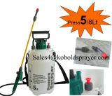 1.5gallon 5litre Capacityhand Komprimierung-Sprüher, Plastikpumpen-Sprüher
