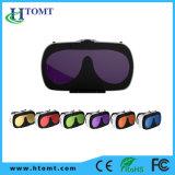 Vidros dos auriculares 3D de Vr da realidade virtual da caixa da caixa 2.0 de Vr
