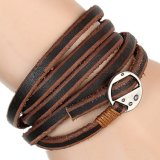 Charme Fashion Leather Jewelry Bracelet für Gift (HJ6101)