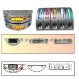 Impermeable IP68 gato de ojos reflectante LED parpadeante Solar carretera Studs