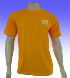 Cotton ordinaire T-Shirts pour Promotional avec Different Colors