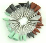 Material dental del pulidor de cerámica médico del silicón de la asta de Fg/Ra