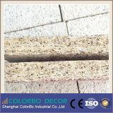 Placa acústica natural da parede de lãs de madeira dos revestimentos