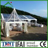 Transparenter Tente Gazebo-temporäres Pagode-Kabinendach-Zelt