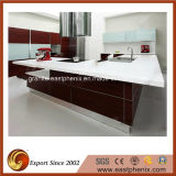 Kitchen Furniture를 위한 백색 Nano Crystallized Glass Countertop
